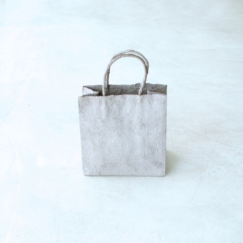 PAPER SMALL BAG / GRAY ¥28,000 tax