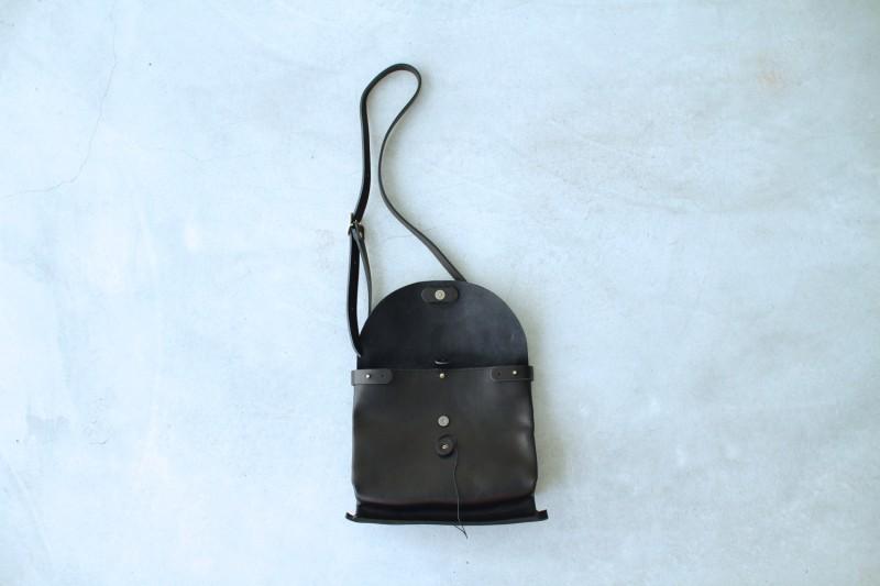 SACK SHOULDER BAG - M / black ¥35,000+tax